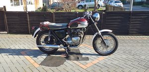 1961 Triumph 3TA with matching numbers spare engine