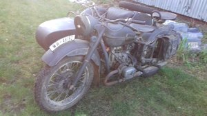 1976 URAL / Cossack 650cc outfit,ex film bike. For Sale