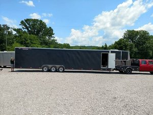 2006 Worthington 46ft Aluminum Enclosed CarTrailer