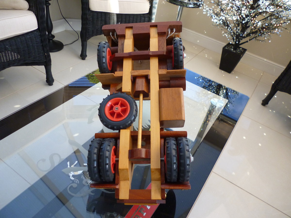 Wooden Hand Made Truck & Trailer For Sale (picture 6 of 6)