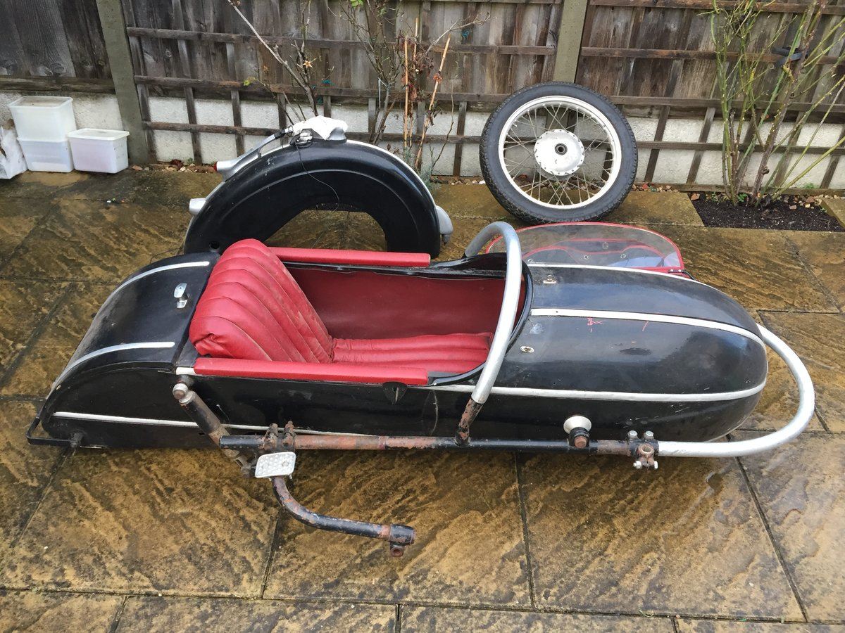 1959 Stieb s501 Sidecar For Sale (picture 1 of 4)