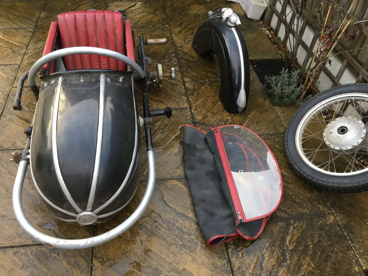 1959 Stieb s501 Sidecar For Sale (picture 2 of 4)