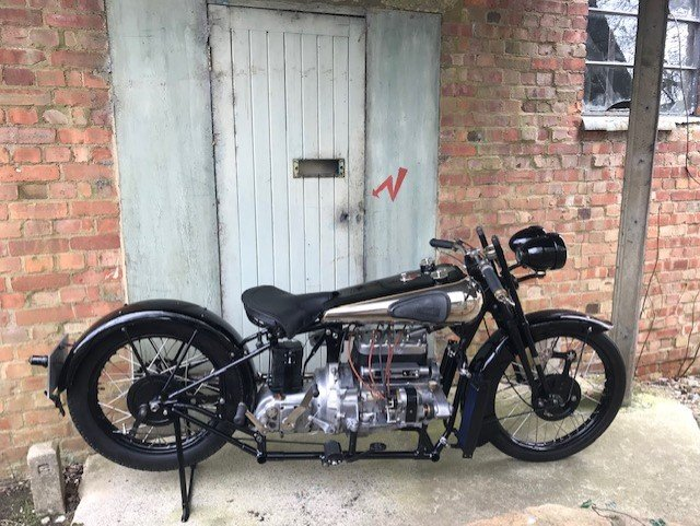 1930 Brough Superior 4 Cylinder For Sale (picture 2 of 6)