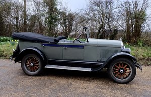 Handsome 1928 Chrysler 52 phaeton For Sale