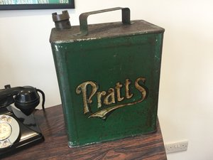 Pratts petrol can pre war For Sale