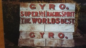 Very Rare Gyro Spirit advertising boards c 1928 For Sale
