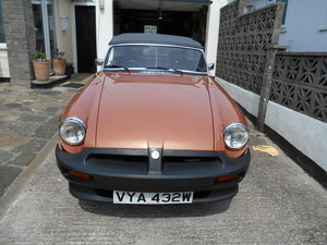 1980 MGB LE For Sale