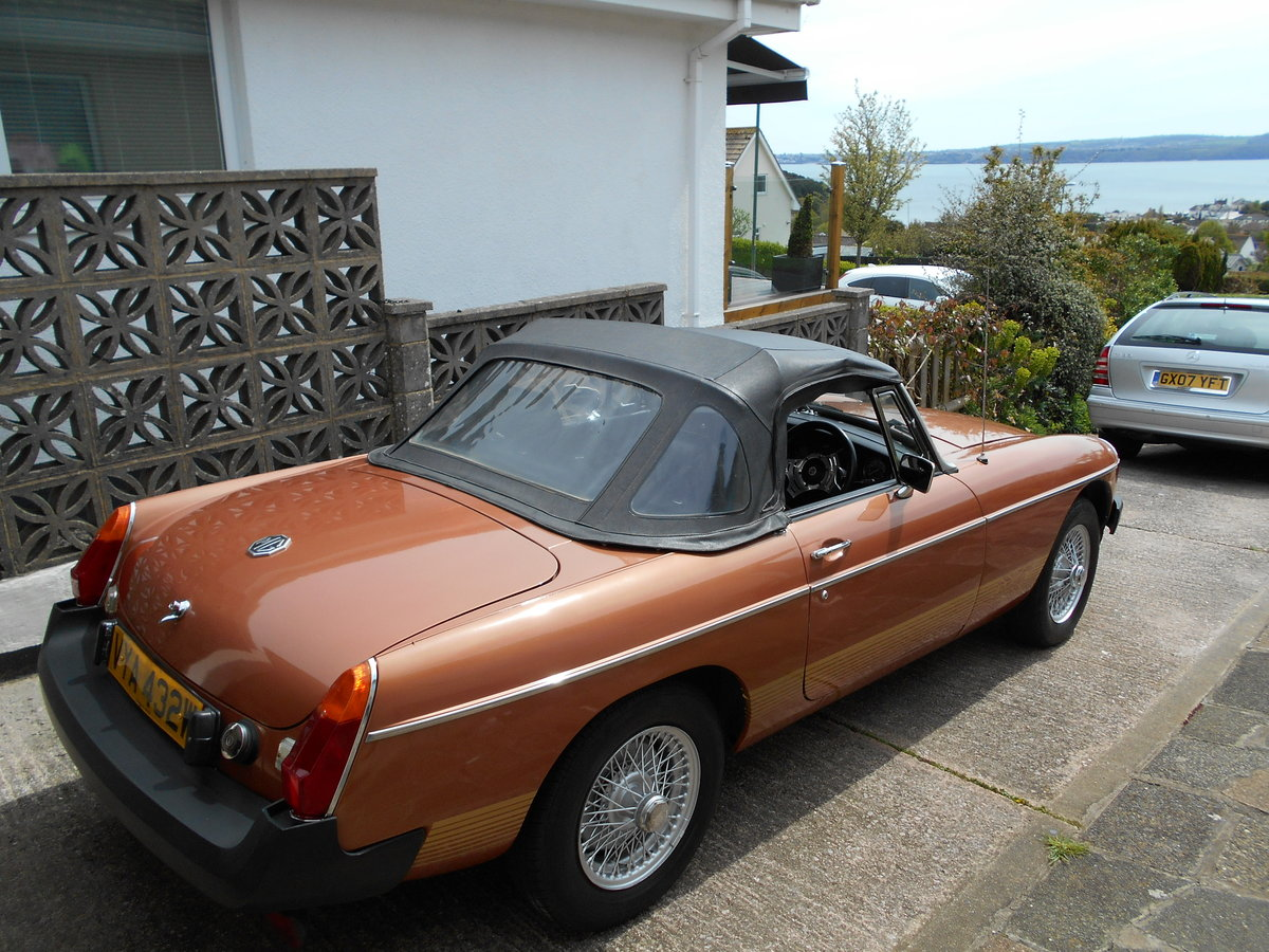 1980 MGB LE For Sale (picture 5 of 6)