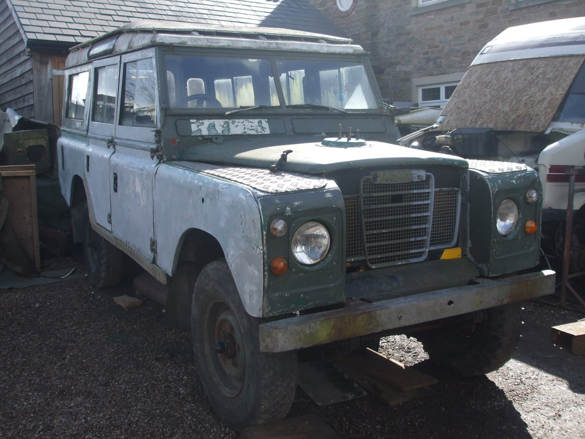 Landrover 1971 series 2a 109 station wagon For Sale (picture 1 of 1)