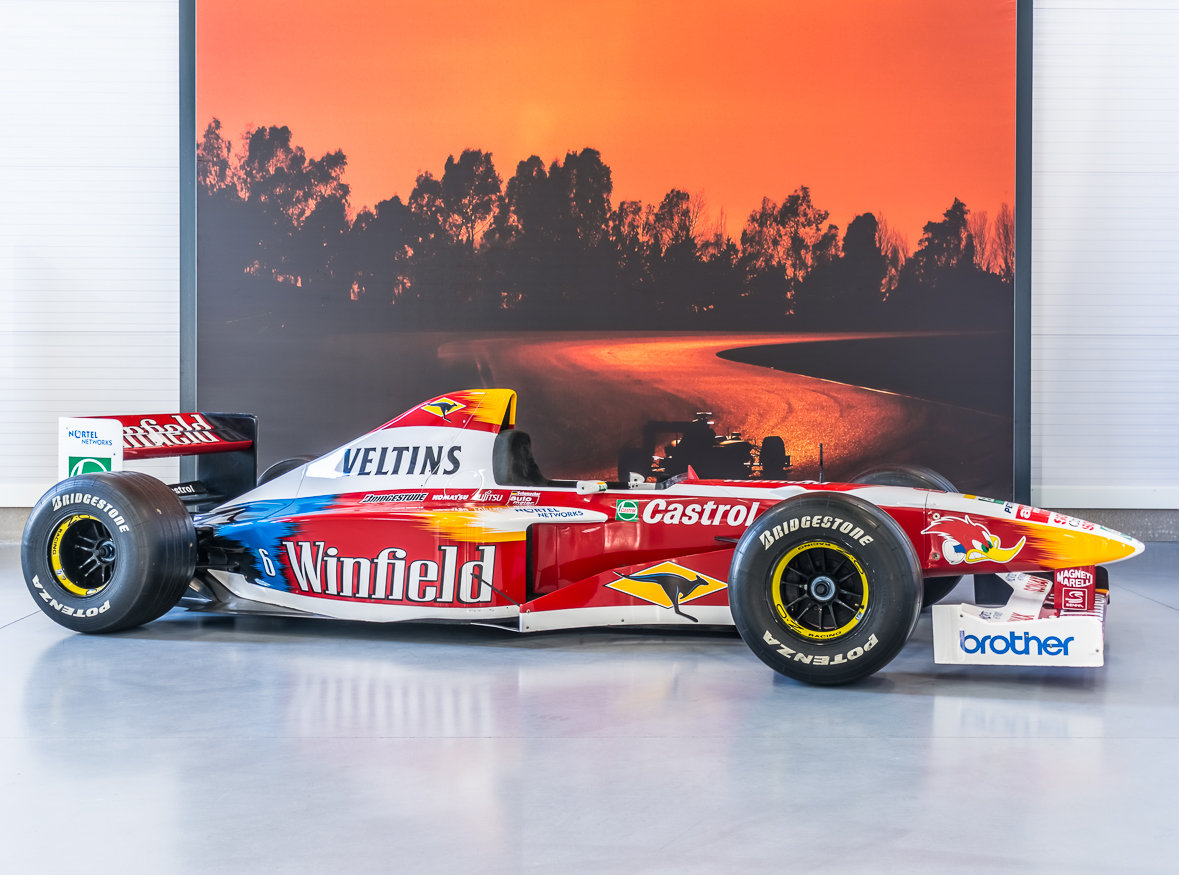 1997 Williams Formula One show-car Ralf Schumacher For Sale (picture 2 of 6)