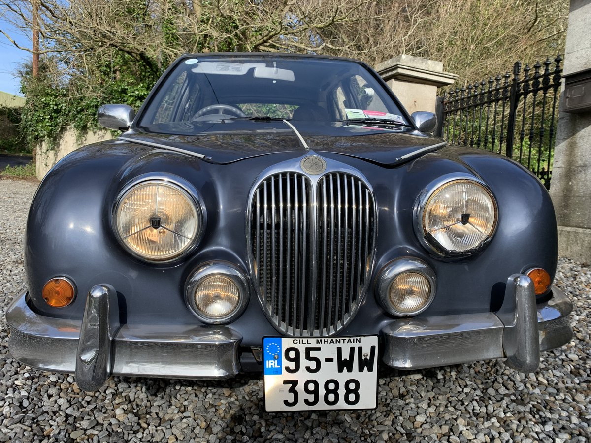 1995 JAGUAR MK2 REPLICA. AUTOMATIC GEARBOX.  For Sale (picture 1 of 6)