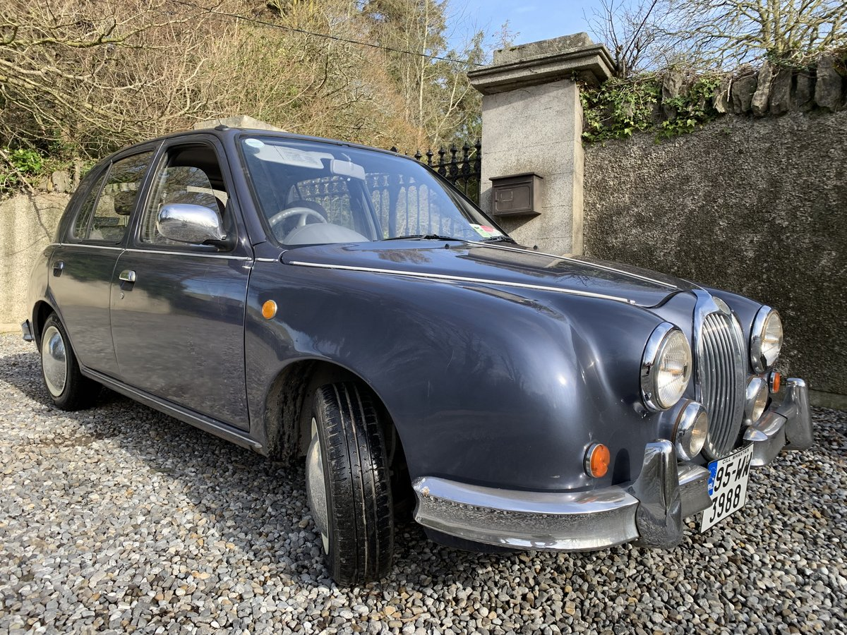 1995 JAGUAR MK2 REPLICA. AUTOMATIC GEARBOX.  For Sale (picture 2 of 6)