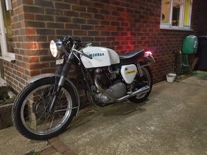 1953 norbsa cafe racer triton db34 bsa norton