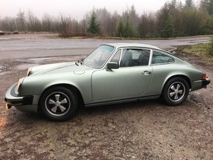 1975 Porsche 911 2.7 MFI 70,000 miles, U.K. car.