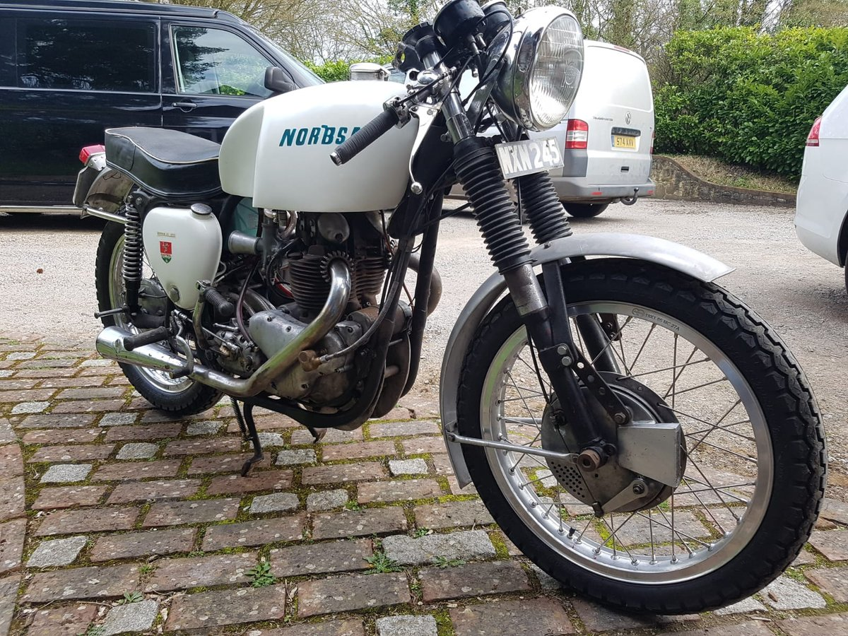 1953 norbsa cafe racer triton db34 bsa norton For Sale (picture 3 of 6)