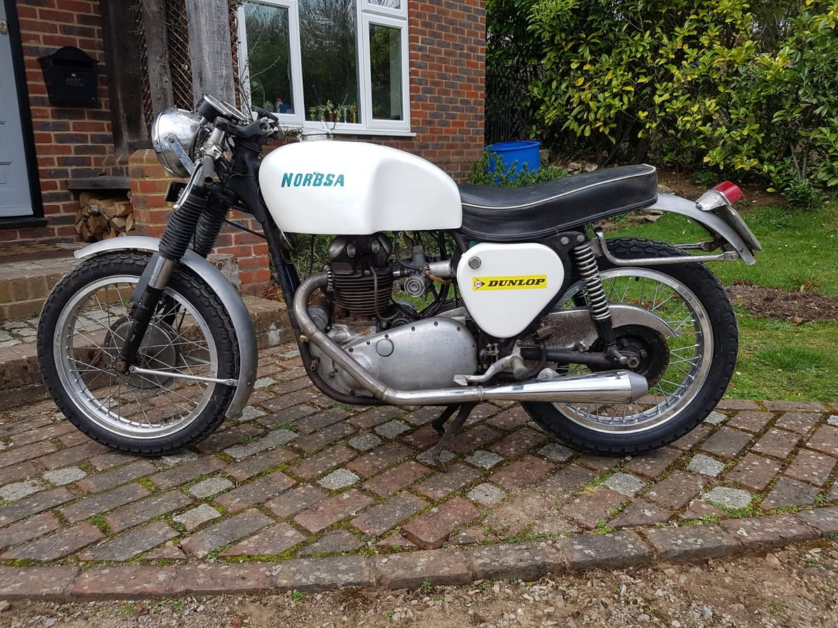 1953 norbsa cafe racer triton db34 bsa norton For Sale (picture 6 of 6)
