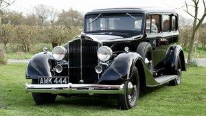 1934 Packard 8 Limousine *US Ambassador's car* For Sale