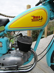 BSA Bantam D3 150cc 1954. Tax and MOT exempt.