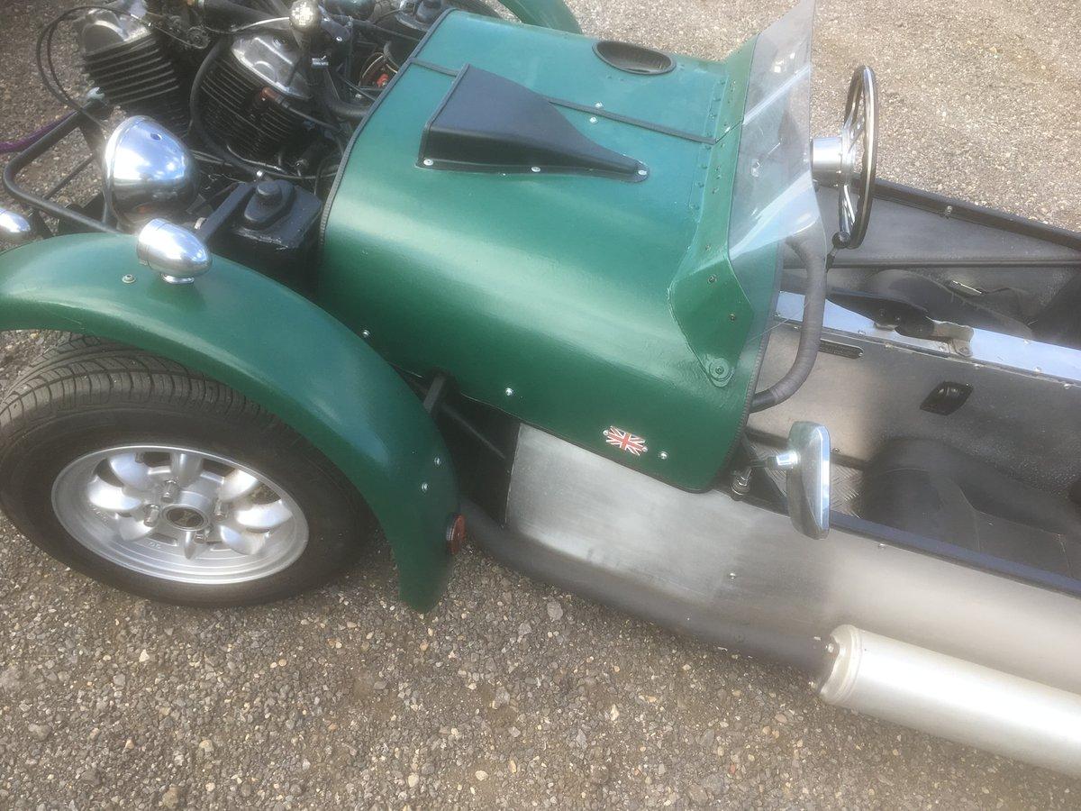 VT500 Revese Trike. Built 2013 full MSVA & 12m MOT For Sale (picture 2 of 5)