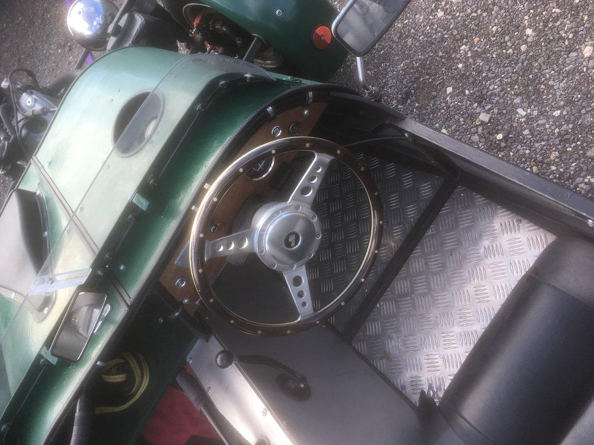 VT500 Revese Trike. Built 2013 full MSVA & 12m MOT For Sale (picture 4 of 5)