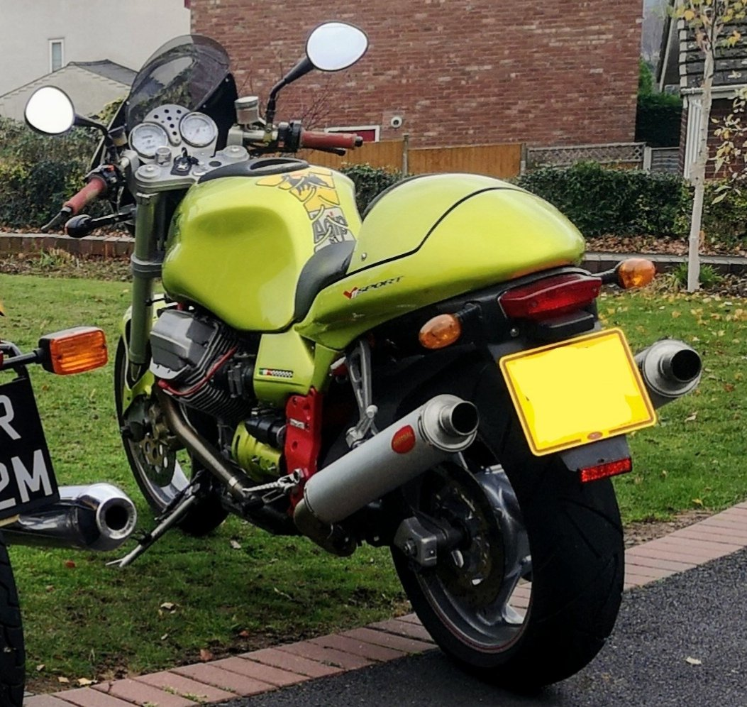 2000 Moto Guzzi V1100 Sport For Sale (picture 3 of 4)