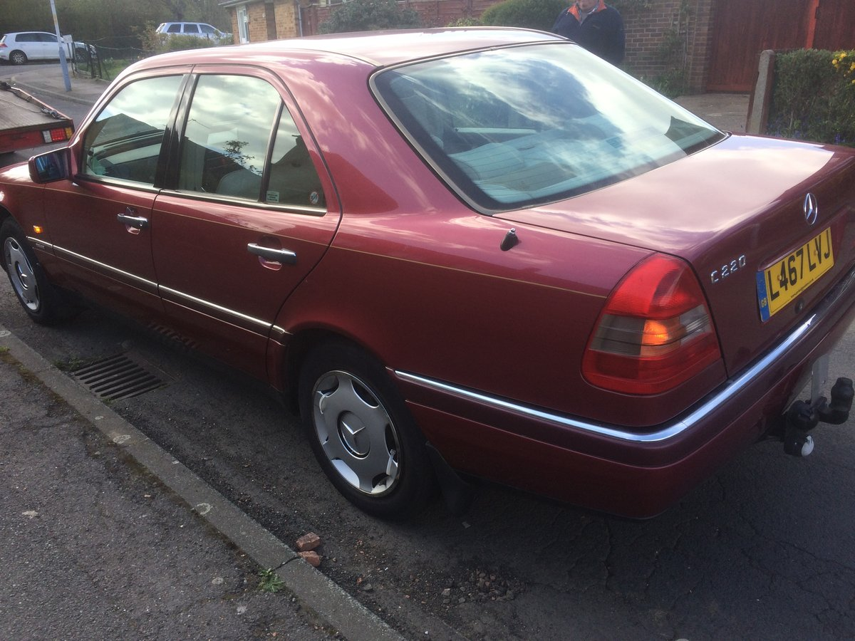 Mercedes c 220 1993 For Sale (picture 3 of 6)