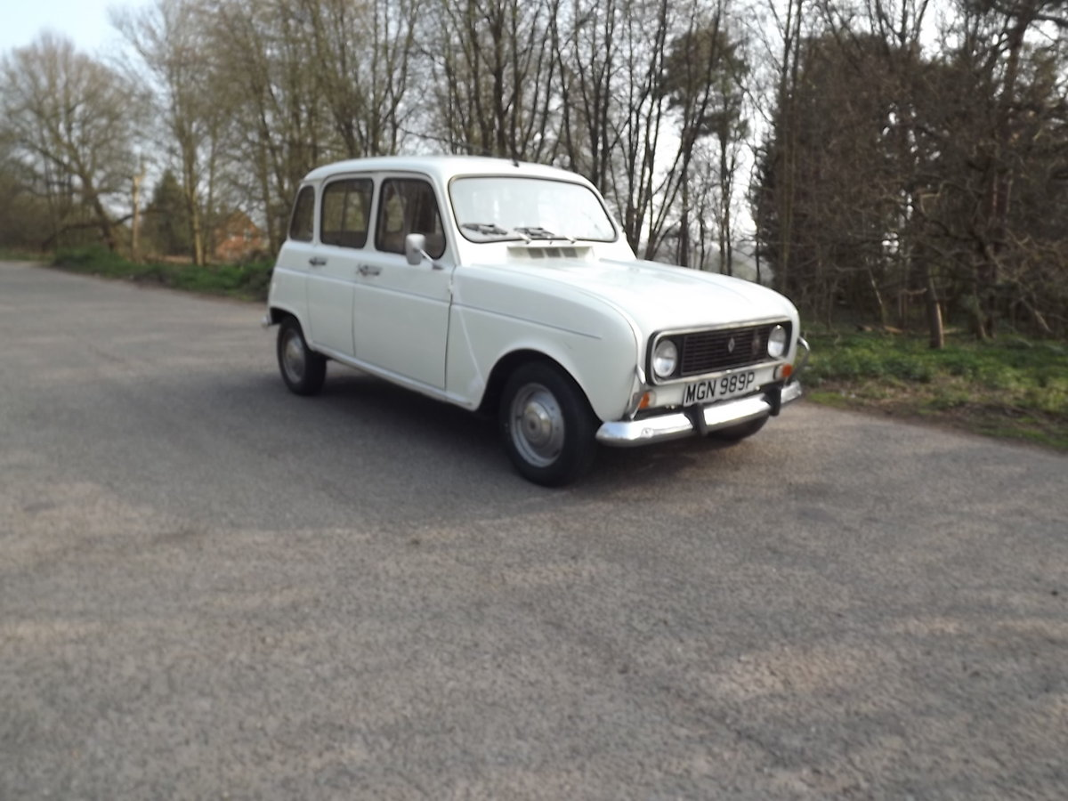 Renault 4TL 1976 RHD SOLD (picture 1 of 5)