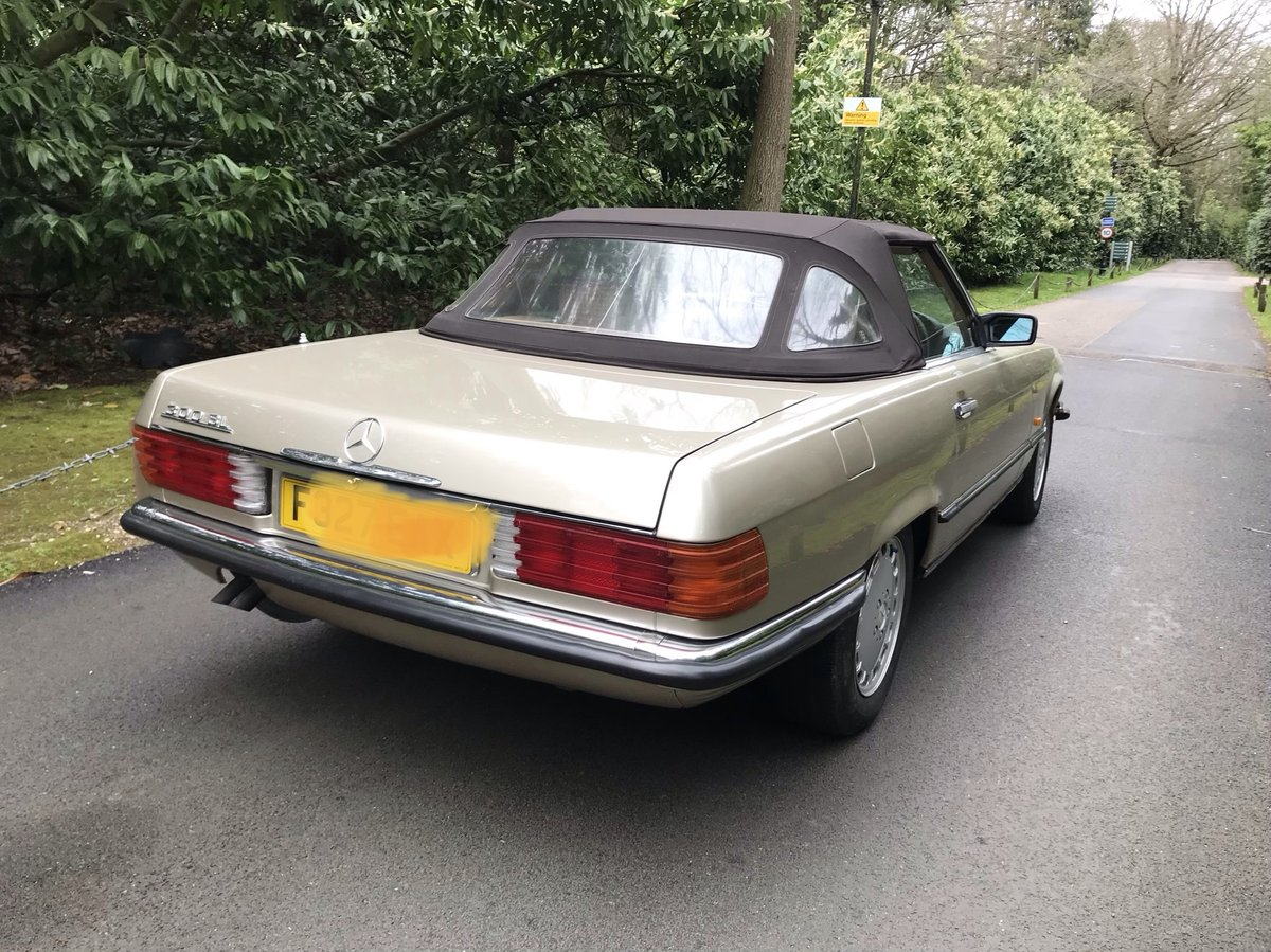 Mercedes 300sl 1988 fantastic condition For Sale (picture 3 of 6)