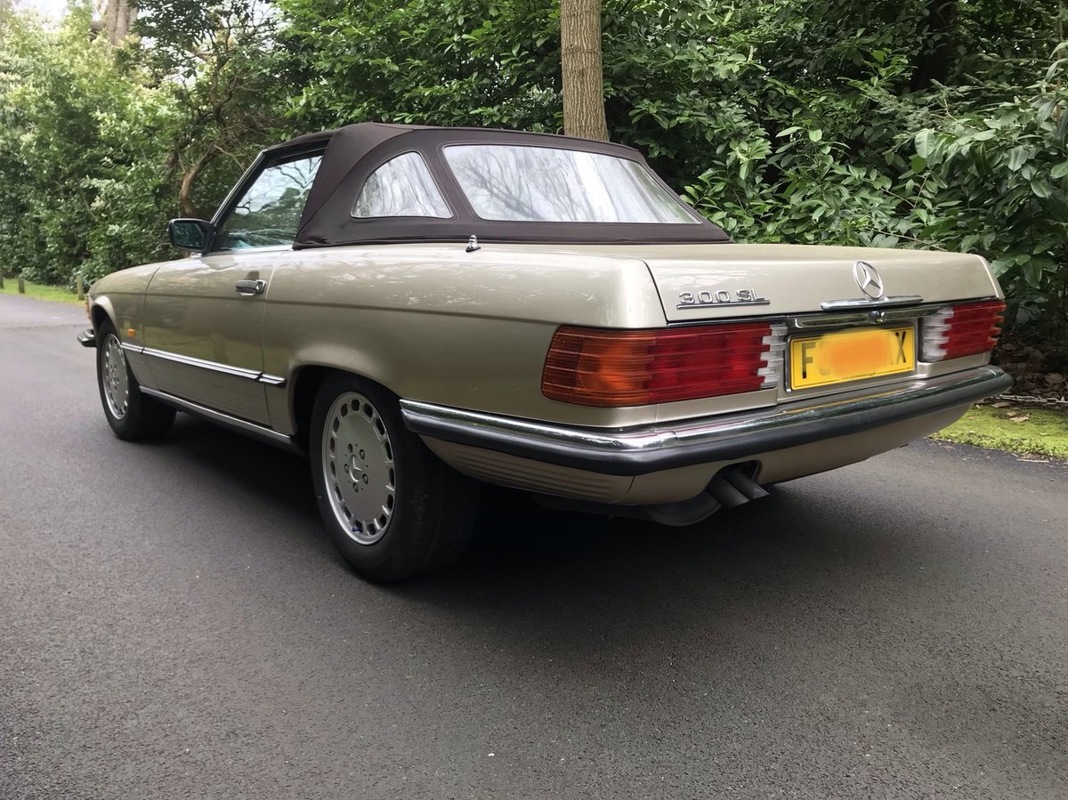 Mercedes 300sl 1988 fantastic condition For Sale (picture 6 of 6)