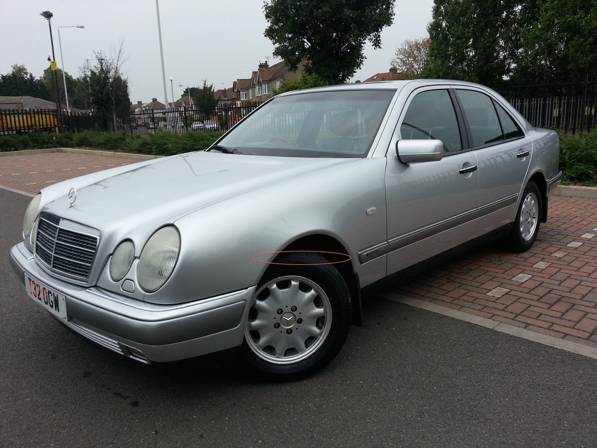 1999 MERCEDES E240 ELEGANCE ONLY 38,600 MILES For Sale (picture 1 of 6)