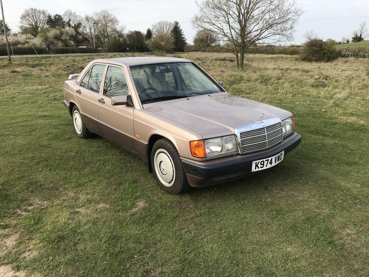 1993 Mercedes 190e auto SOLD (picture 1 of 6)