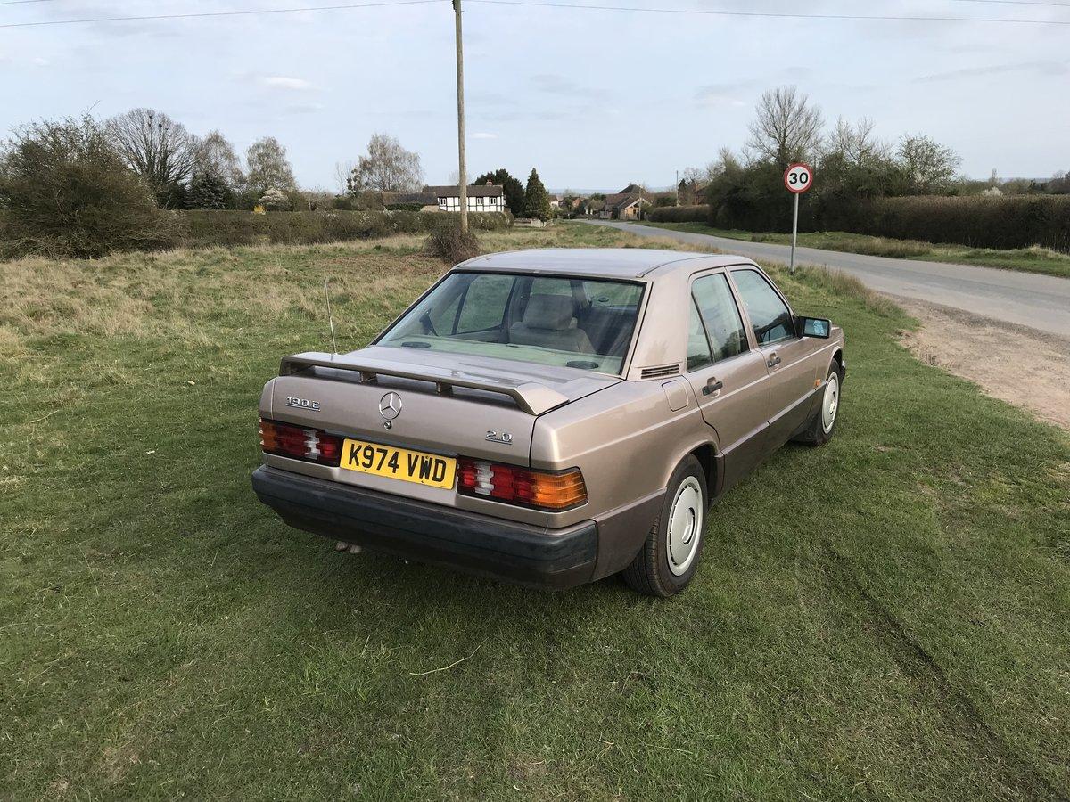 1993 Mercedes 190e auto SOLD (picture 2 of 6)