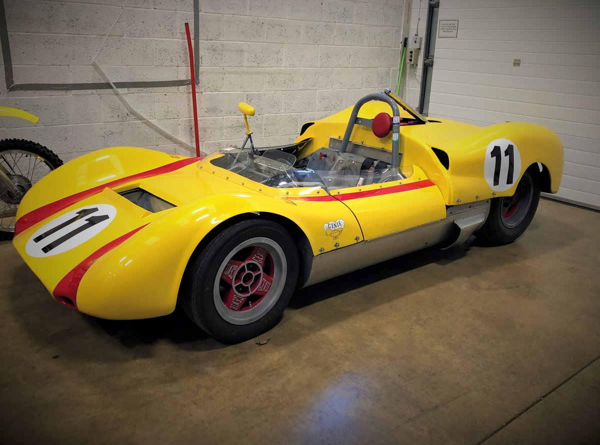 1964 Huffaker Genie Mk10B . Restored Can Am Car For Sale (picture 1 of 6)