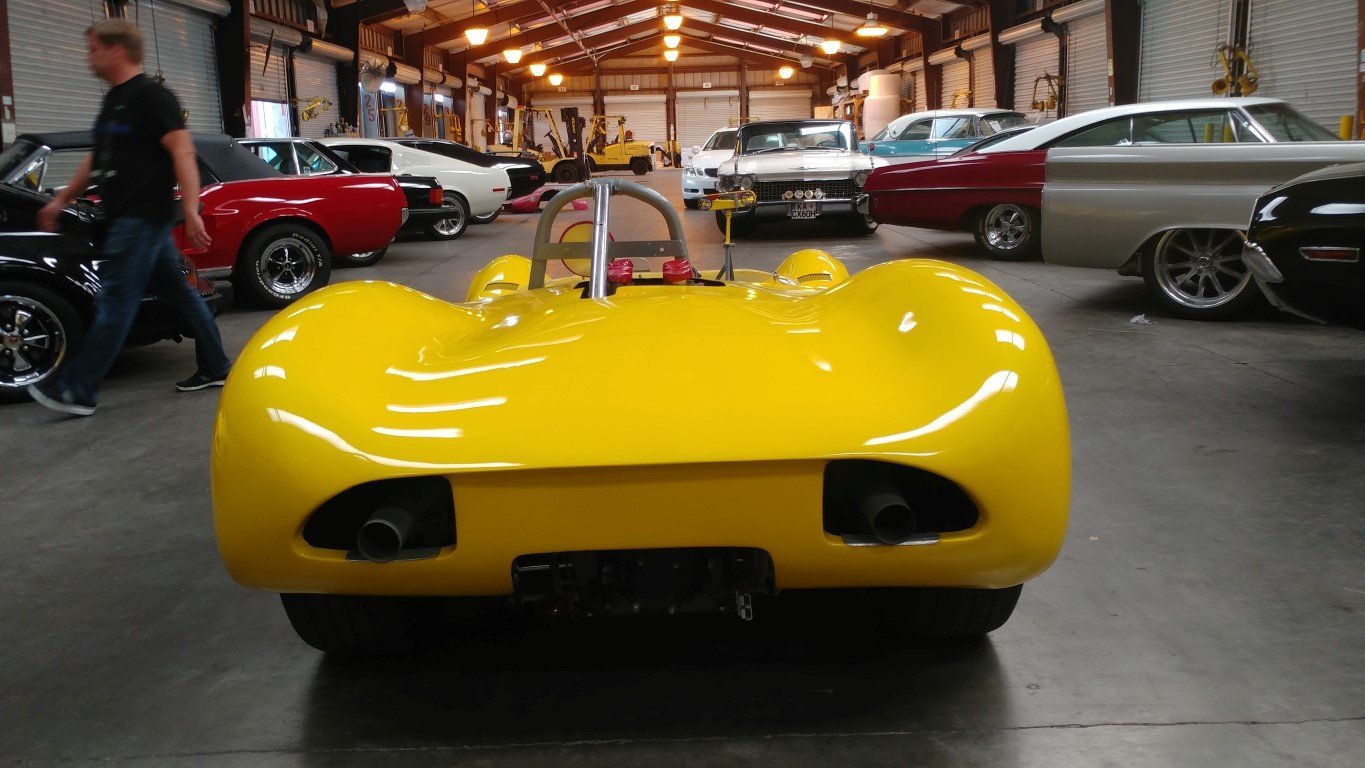 1964 Huffaker Genie Mk10B . Restored Can Am Car For Sale (picture 2 of 6)