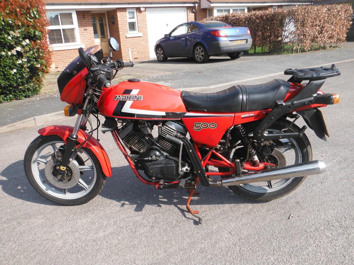1983 Moto Morini SEI V   500cc For Sale (picture 1 of 4)