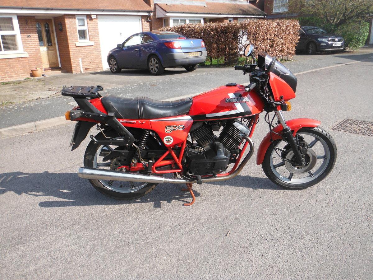 1983 Moto Morini SEI V   500cc For Sale (picture 2 of 4)