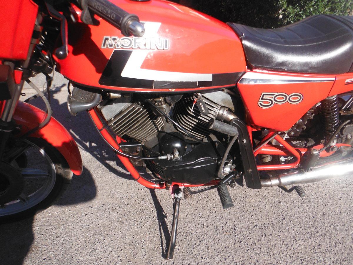 1983 Moto Morini SEI V   500cc For Sale (picture 3 of 4)