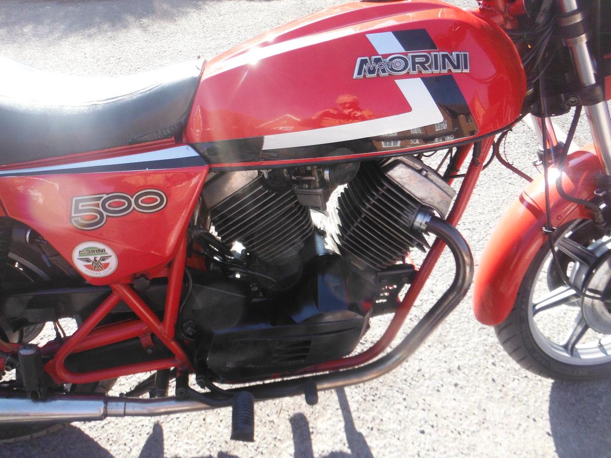1983 Moto Morini SEI V   500cc For Sale (picture 4 of 4)