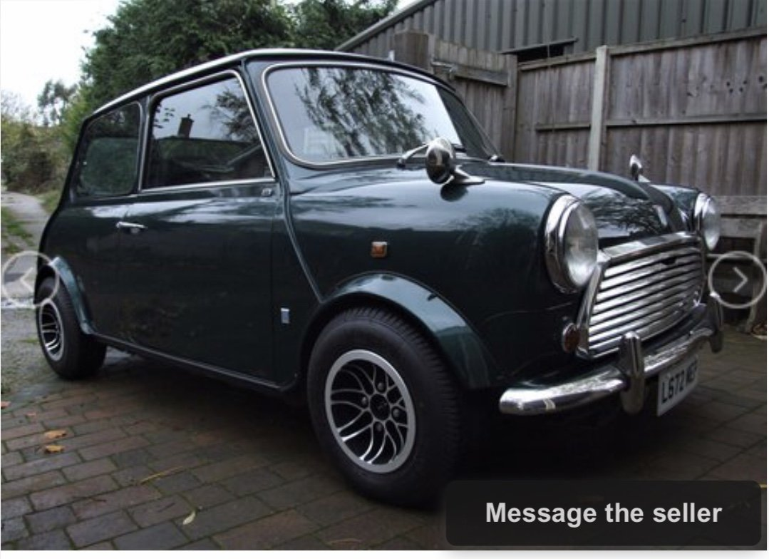 1993 Japanese Spec 1275 Mini Auto For Sale (picture 1 of 6)