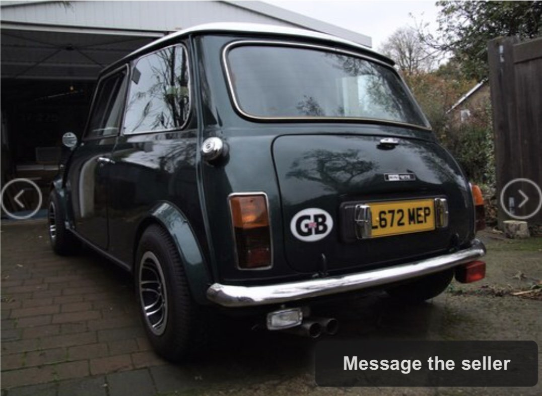 1993 Japanese Spec 1275 Mini Auto For Sale (picture 2 of 6)