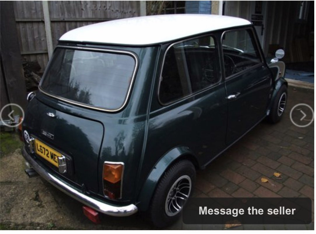 1993 Japanese Spec 1275 Mini Auto For Sale (picture 3 of 6)