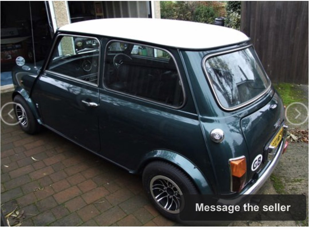 1993 Japanese Spec 1275 Mini Auto For Sale (picture 4 of 6)
