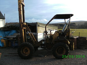 1960 LINER 4x4 ARTIC Rough Terrain Fork Lift VINTAGE For Sale