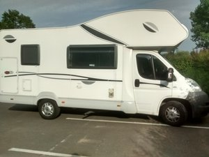 2007 6 berth Fiat based Motorhome For Sale