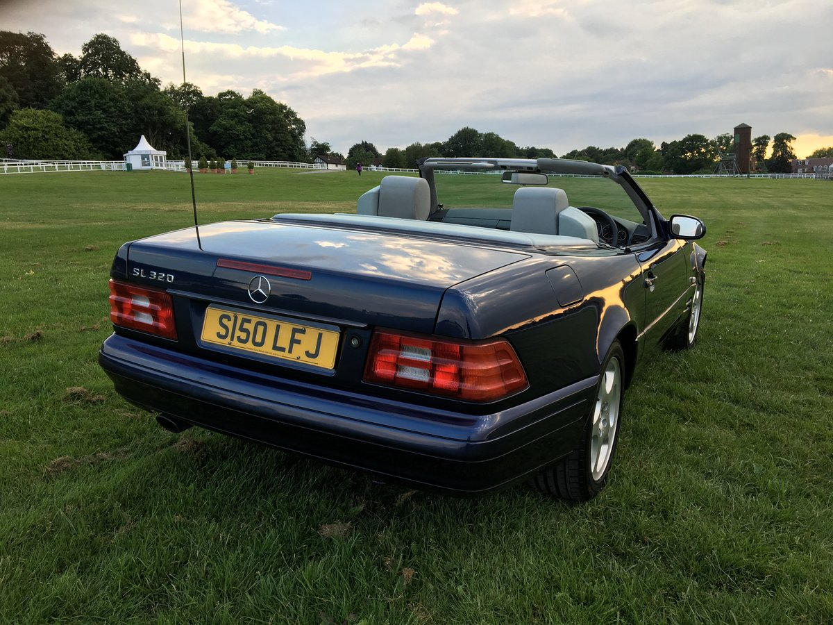 1998 Mercedes Benz SL320 R129 For Sale (picture 4 of 6)