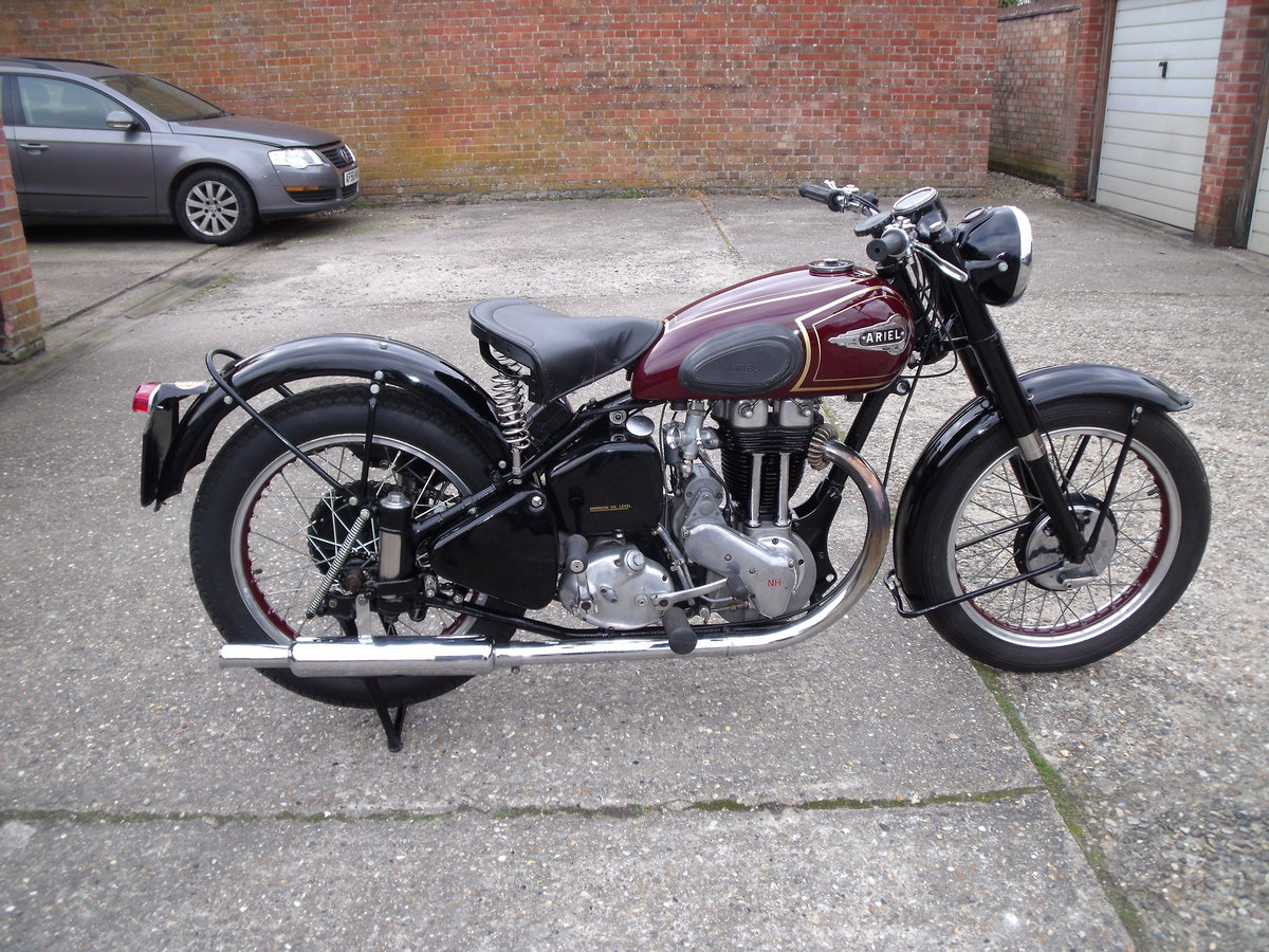 1952 ariel 350cc for sale SOLD (picture 1 of 6)