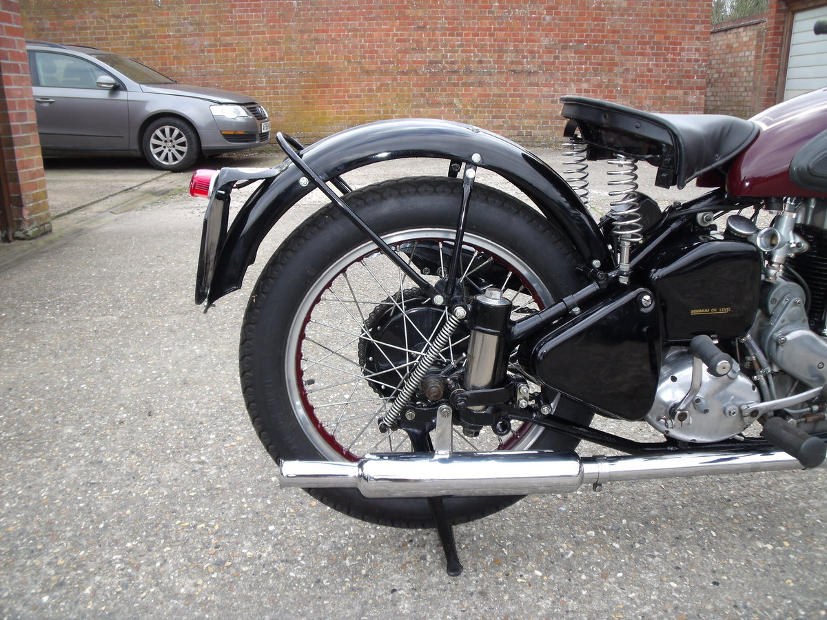 1952 ariel 350cc for sale SOLD (picture 2 of 6)