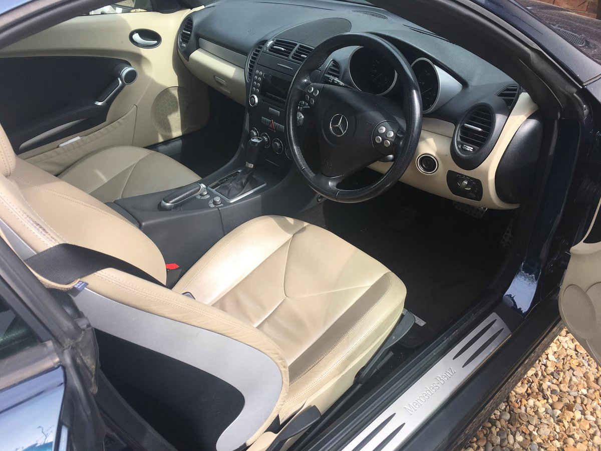 2006 MERCEDES BENZ SLK 200 KOMPRESSOR AUTO For Sale (picture 3 of 6)