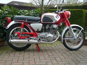 1966 Honda CB72 fully restored