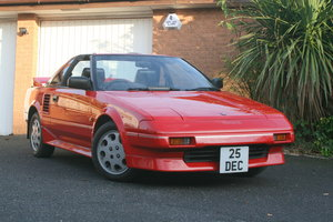 1989 Toyota MR2 mark 1 - must be one of the best around For Sale